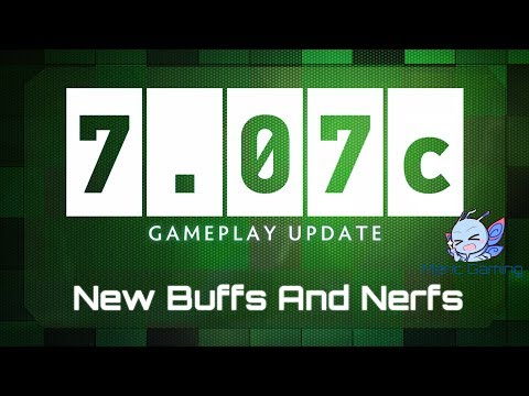 Dota 2 - New Buffs And Nerfs - 7.07c Patch