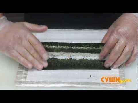 Как приготовить суши (унаги маки). Суши Шоп. / How to make Unagi Maki sushi.