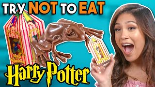 Try To Resist Eating Harry Potter Foods | People Vs. Food