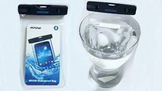DIY Make your smartphone Waterproof - MPOW Underwater case review test