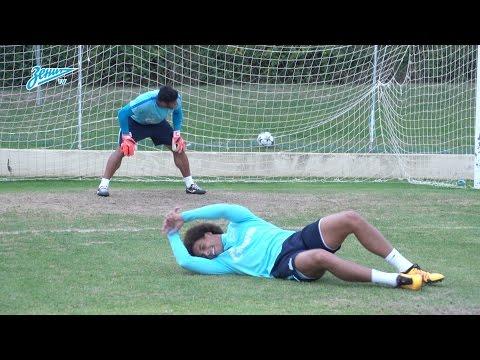 Тест на лучший вестибулярный аппарат: часть 2 / FC Zenit Dizzy Goals Challenge: part 2
