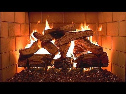 My Second Best Fireplace Video (2 hours long)