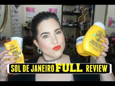 Brutally Honest Review of Sol De Janeiro BUM BUM Cream, Body Wash + More!!