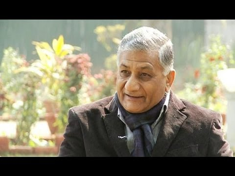 Straight talk with former Gen V K Singh