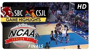 NCAA 91 Finals: SBC vs CSJL Game 3 Highlights