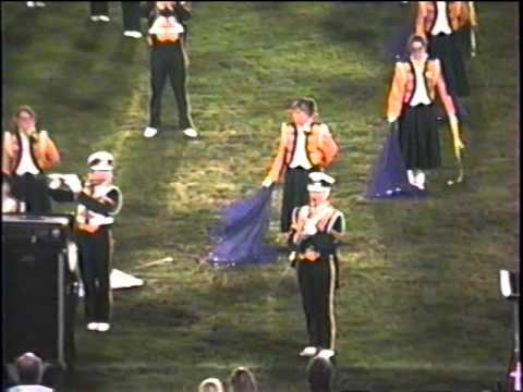 1992 Athens High School Marching Green & Gold Home post-game