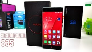 Nubia Z17 - $400 - Snapdragon 835 - 6GB/64GB - Edge to Edge - NFC - 23MP Cam!