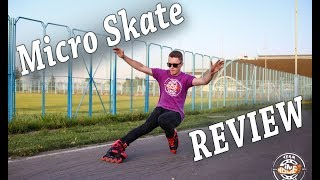 MICRO SR Inline Skates - REVIEW and TEST - slides, jumps, stairs and freeride