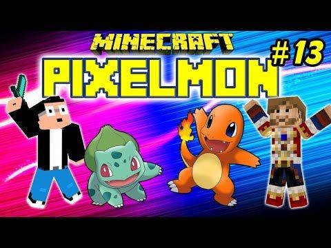 PIXELMON : Ep.13 - Bobdine, Boss d'Azuria - MOD Pokemon Minecraft [FR] [HD]