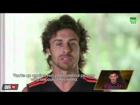 La cara seria de Messi con Luis Enrique y su sonrisa con Aimar