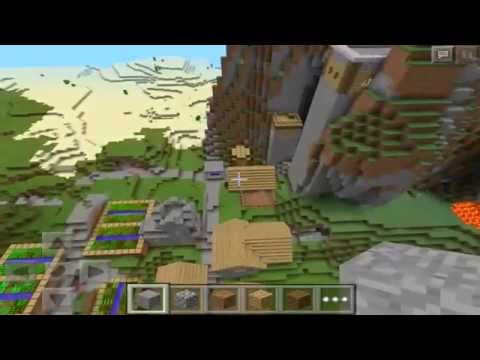 INSANE VILLAGE SEED! :: Minecraft Pocket Edition 0.9.5 Seed