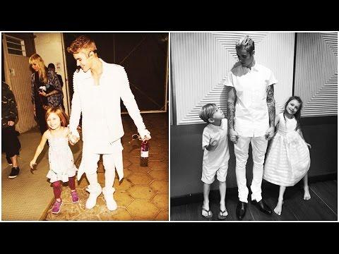 Justin Bieber, Jaxon Bieber & Jazmyn Bieber - Before and After (2009 - 2016)