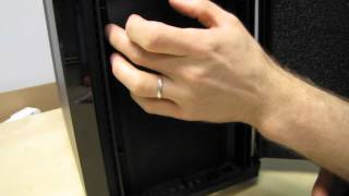 Corsair Obsidian 550D Quiet Computing Computer Case Unboxing & First Look Linus Tech Tips