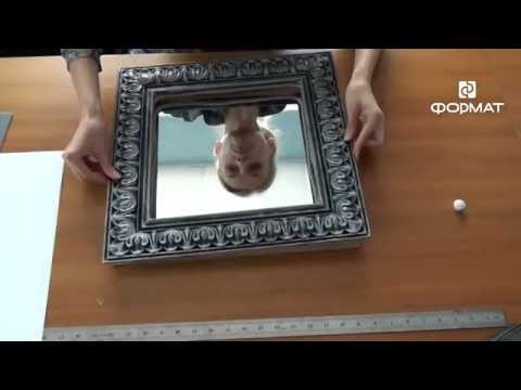 Стильное зеркало для комода своими руками + подробные чертежи и рисунки