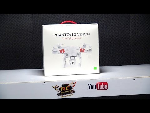 RC ADVENTURES - Unboxing the DJI Phantom 2 Vision Quad-copter / Camera Drone