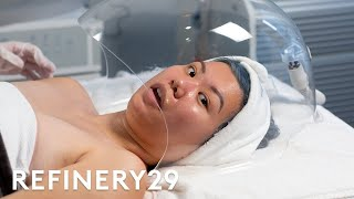 I Tried The Trendy CBD Facial For The First Time   Beauty With Mi   Refinery29