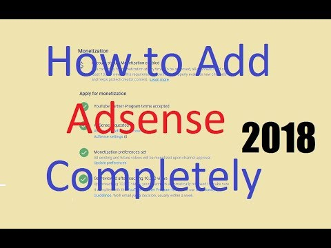 How To Link Your YouTube Channel To Your Adsense Account - Enable Monetization 2018