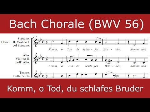 Бах Иоганн Себастьян - Komm, o Tod, du Schlafes Bruder, BWV 56