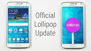 Galaxy S5 - Official Android 5.0 Lollipop Update - Install Instructions (SM-G900F Only)