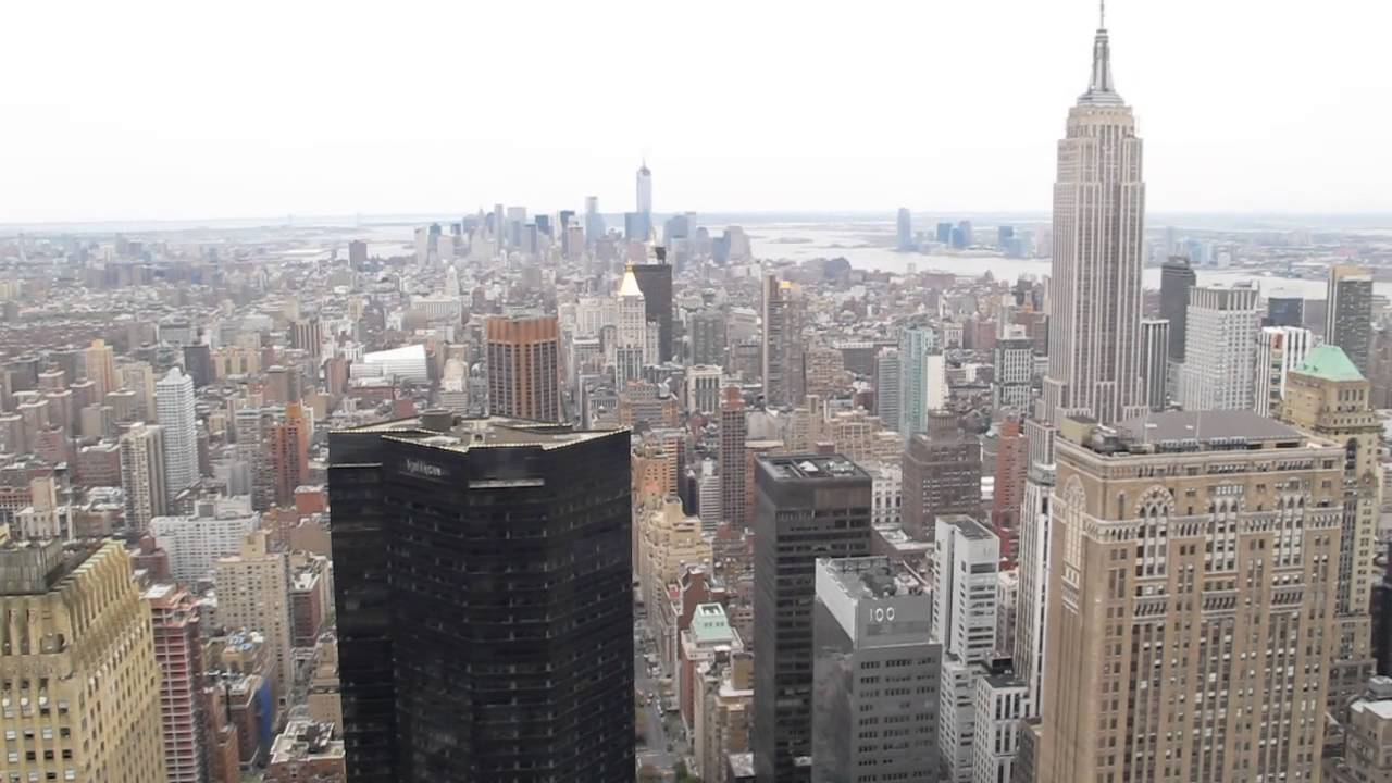 View From Metlife Building Roof Manhattan Nyc Youtube