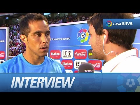 Interview Bravo after Rayo Vallecano (0-2) FC Barcelona - HD