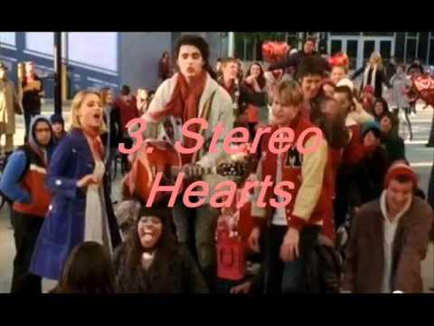 Glee top 10 'Love Songs'