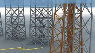Oil and Gas - 3D Animation - Subsea01