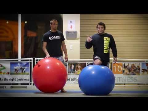 Naples BJJ and Brazilian Jiu Jitsu: Stability Ball Training For BJJ Part 1 Image 1