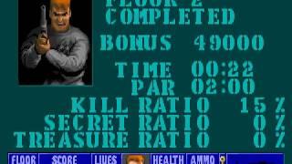 Wolfenstein 3D - E1L2 (Speedrun in 0:22)