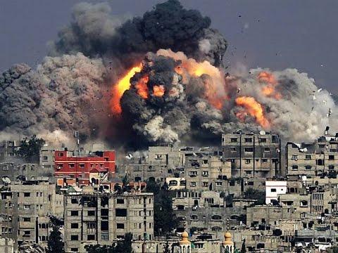 Gaza conflict 'Israeli market strike kills 15'