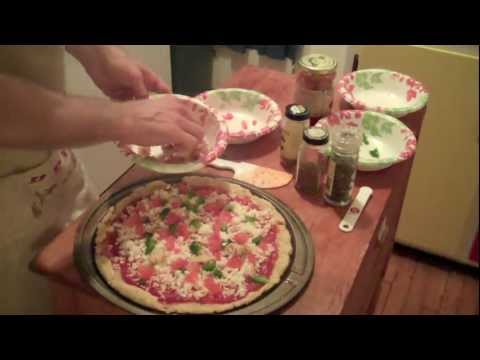 Henry's Kitchen - 4.5 - New Year's Gluten Free Vegan Pizza