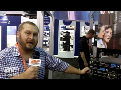 CEDIA 2014: Nexus Talks About C-816 Multi-Room Controller and Amplifier