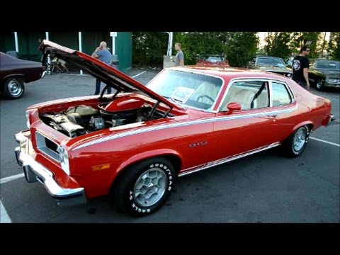 cool '74 pontiac ventura done up as a gto youtube