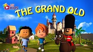 The Grand Old Duke of York with Lyrics | LIV Kids Nursery Rhymes and Songs | HD