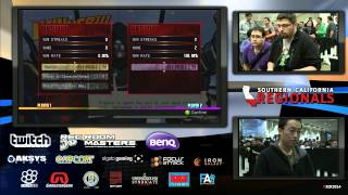 UMvC3 BT ANGELIC VS MINIBOSS - Socal Regionals 2014 Day 1
