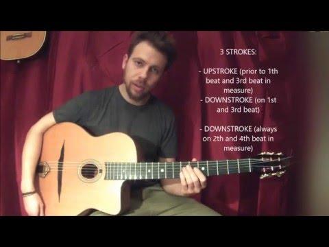 Djangoscool - Introduction To Rhythm Techniques In Gypsy Jazz - Swing (gypsy Jazz Lesson)