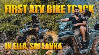 First ATV Bike Ride in ELLA | Sri Lanka 🇱🇰 | TRAVEL VLOG #19