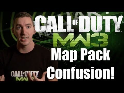 MW3 Map Pack Confusion!!! By Lew2Bail (MW3 Gameplay/Commentary)