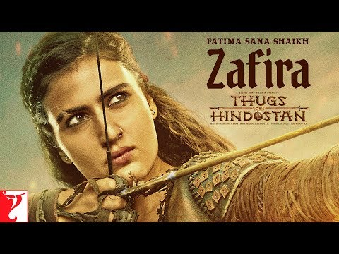 Fatima Sana Shaikh | Zafira | Thugs of Hindostan | Motion Poster | Releasing 8th November 2018