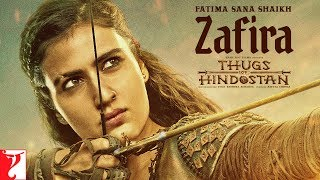 Fatima Sana Shaikh | Zafira | Thugs of Hindostan | Motion Poster | Releasing 8th November 2018
