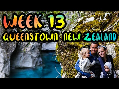 WEEK 13 : Queenstown, New Zealand /// Glow Worms, Bungee Jumping, Milford Sound, OH MY!!