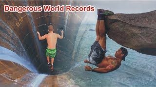 Top 10 Most Dangerous World Records of All Time In Urdu/Hindi .Most Crazy Guinness World Records