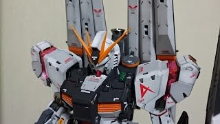 【ガンプラ】MG ニューガンダム ver.GFT 完成披露