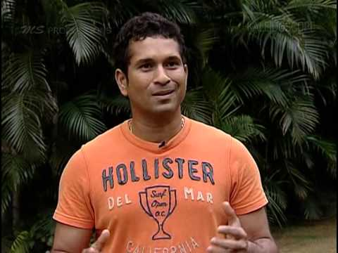 Sachin Tendulkar speaking about Sourav Ganguly