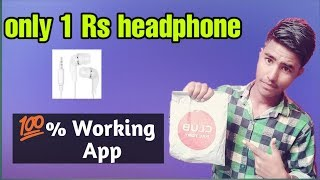 Free 1 Rs headphone in club factory ||Technology boy shiv||