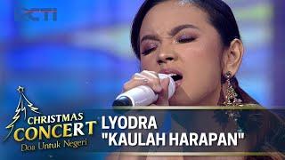 Lyodra Kaulah Harapan - Christmas Concert 2020 - Doa tuk Negeri