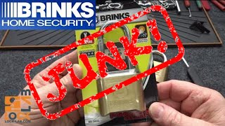 (1005) Brinks ProMax Combination Padlock Hacked (JUNK!)