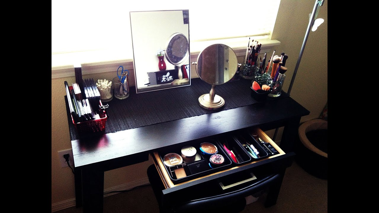 diy vanity under 70 maricarljanah youtube. Black Bedroom Furniture Sets. Home Design Ideas