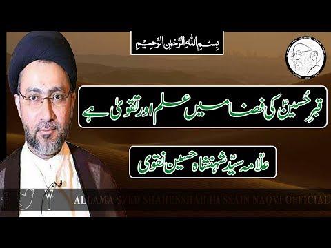 Qabar E Hussain A.S. K Fiz'ah Mai Ilm Aur Taqwa Hai