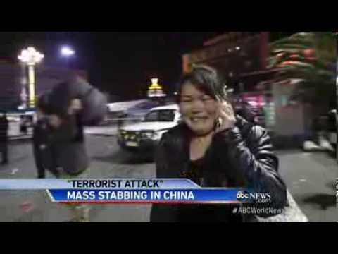 Mass Knife Attack in Chinese Train Station